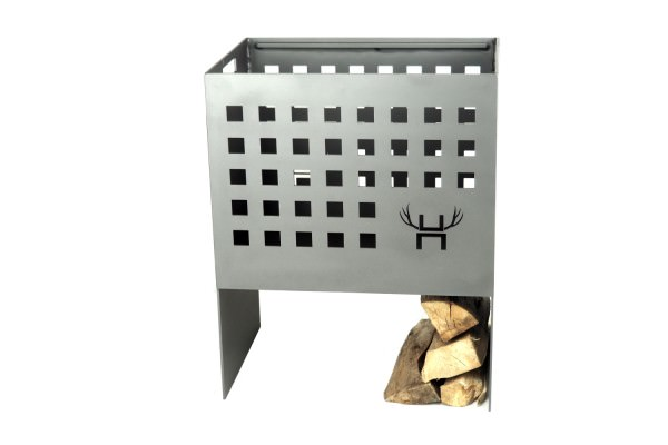 Hotbox aus Stahl mit Grillblech